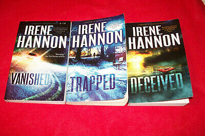 Lot of 3 Irene Hannon Softcover Books,Private Justice Novel Series