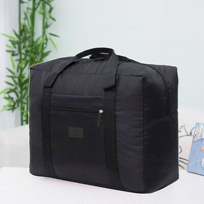 Portable Waterpoof Folding Travel Luggage Storage Bag Carry-On Duffle Bag NEW WU