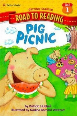 Pig Picnic (Step-Into-Reading, Step 1) by Patricia Hubbell, Good Book