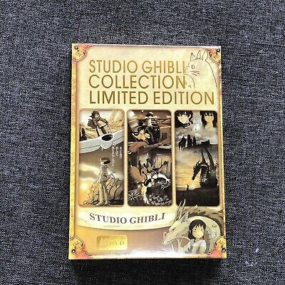 18 Miyazaki Moive Films Studio Ghibli Collection Limited Edition (DVD, 6-Disc)