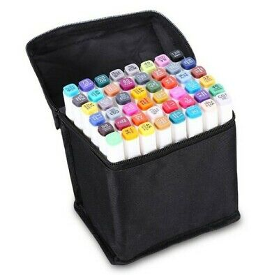 80 Colors Dual Head Markers Set For Architectural Design Interior Drawing Artist