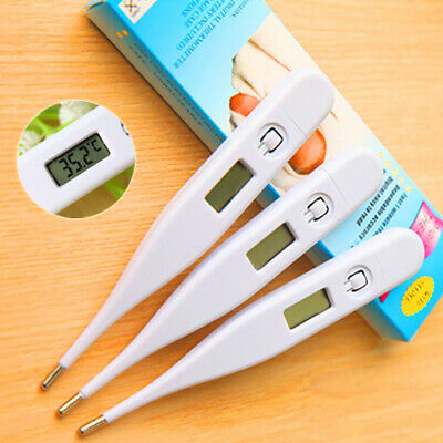 LCD Digital Thermometer Baby Adults Body Ear Mouth Underarm Temperature Medical