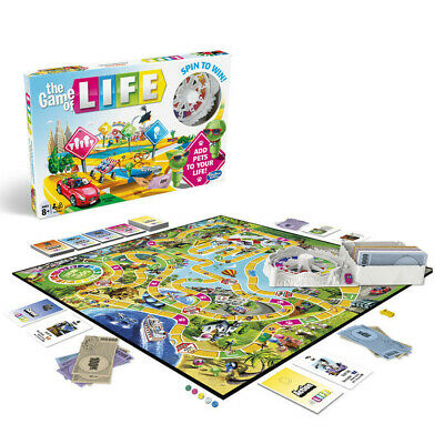 The Game of Life Board Game New Edition Traditional Board Game Fun Family Game