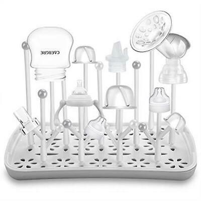 Baby Bottle Drying Rack with Tray Termichy High Capacity Bottle Dryer Holder