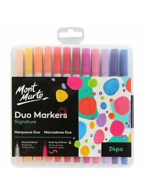 Mont Marte Duo Markers 24 pce