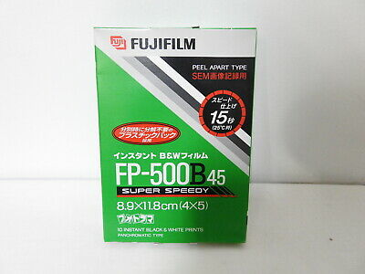【RARE!! NEW】 FujiFilm FP-500B45 4x5 Instant film Expired 6/2007 From JAPAN #1251