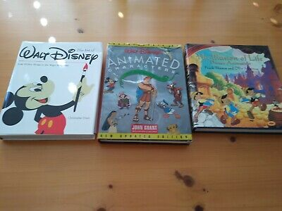 Disney Animation Art Collectible Animation Character Illustration Books