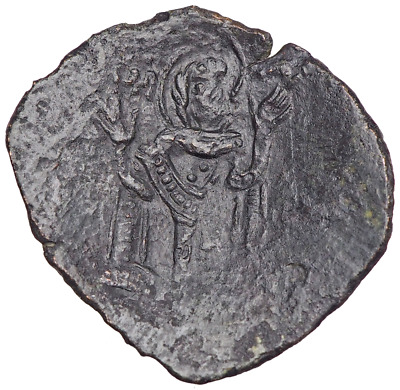 Michael VIII Palaeologus. 1261-1282. Æ Trachy. Mary standing with hands raised