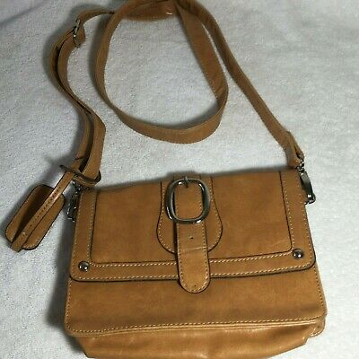Cognac Brown Mondani New York Women/'s Shopper Tote Handbag