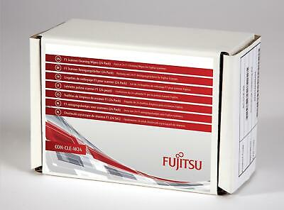 Fujitsu CON-CLE-W24 F1 Scanner Cleaning Wipes (24 Pack) CON-CLE-W24