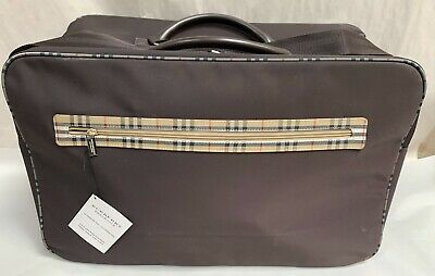 UNUSED W/Tag Luxury Burberry Fragrance Sac Weekend Overnight Carry Bag (A10)