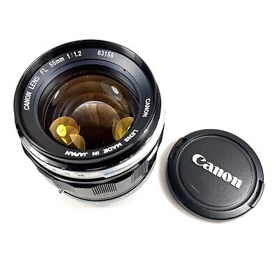 [FULLY TESTED] Canon FL 55mm F/ 1.2 Super Fast Prime Lens (EXC++)
