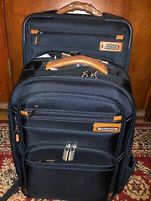 Samsonite Premier II NXT 2-piece Softside Carry-on Spinner Luggage and Backpack