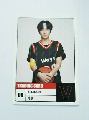 K-POP WayV XIAOJUN Limited Photocard - Official New 2020 SEASON'S GREETINGS
