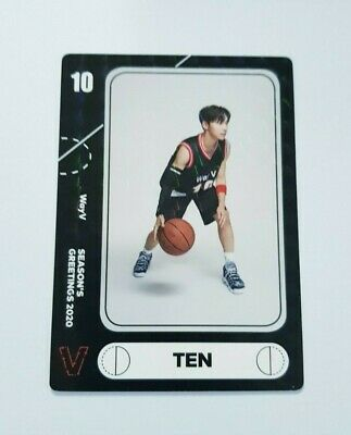 K-POP WayV TEN Limited Photocard - Official New 2020 SEASON'S GREETINGS