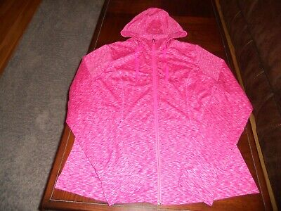 The North Face womens warm up jacket size L large MINT cond hood