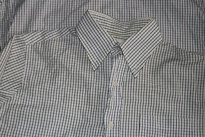 Brooks Brothers Mens Bb1 Small Black Fleece Thom Browne Button Down Check Shirt