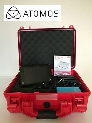 Atomos Ninja Flame 4K HDR Monitor Recorder Plus Accessories EXCELLENT Condition