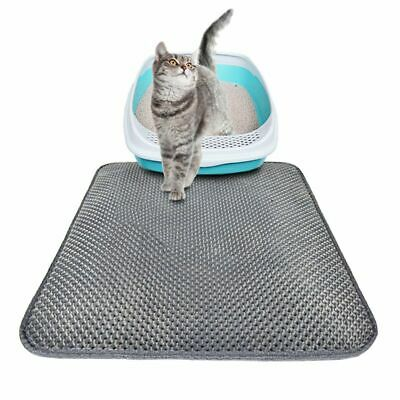 Pet Cats Litter Mat Double Layer Pad Large Flexible Trapping for litter Box