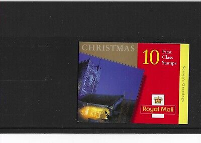 2000 LX19 10 x 1ST CLASS XMAS NVI BOOKLET OFFERED BELOW FACE VALUE FREE P&P