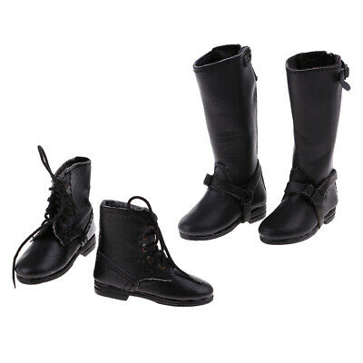"2 Pairs 1//6 Scale Flat Boots Shoes Toy Accessories for Male 12/"" Action Model"