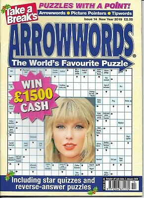 Take A Break Arrow Word Books Lots Of Fun Puzzles For All Ages Issue 14 2019/20