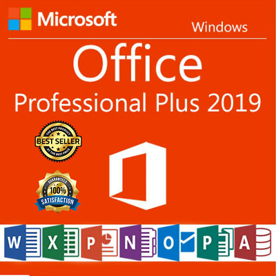 Ms office pro plus 2019 ✅ Genuine License key 32/64 BIT ✅ Fast Delivery ✅