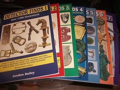 Detector Finds Books No 1 Is A Revised Fourth Edition + 2 More Read Once Bailey.
