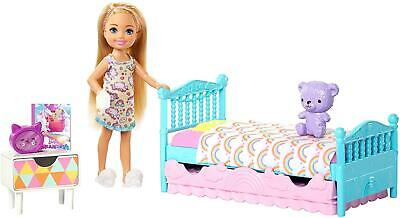 Barbie Club Chelsea Bed Time Doll Playset