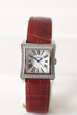 RATIUS TDLS50635 WATCH Silver with Glitter Stones Red