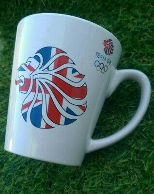 Team GB Paralympic Mug London Olympics 2012 White Lion Collector Olympic