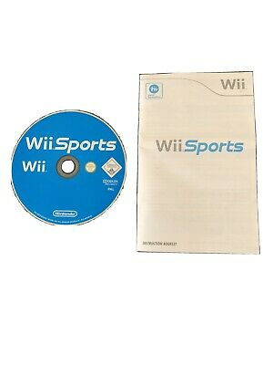 Nintendo Wii Wii Sports Game With Manual