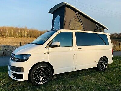 Volkswagen Transporter 66 Reg Vw T6 Camper Sportline Look New Conversion