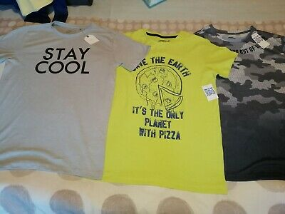 Bundle Boys T-shirts ALL BRAND NEW WITH TAGS Age 12 years Summer Tops inc NEXT