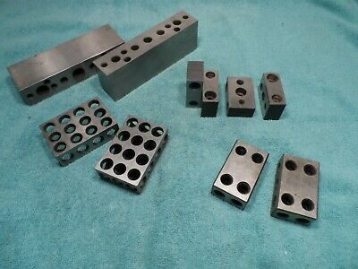 Machinist Tool: Lot of 10 Homemade Blocks, 123 and Others