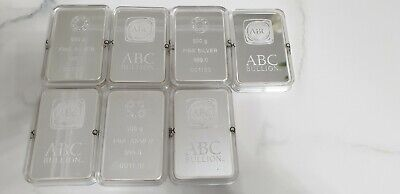500g ABC Bullion Silver Minted Bar