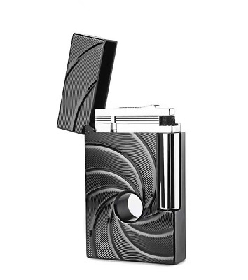 ST Dupont Ligne 2 ghost 007 Metal Gas Lighters Black hole Christmas gift