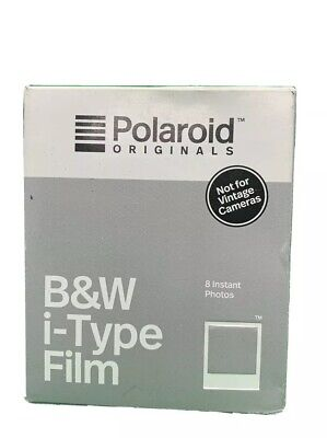 Polaroid Originals B&W Instant Film for i-Type Camera Expired 02/2018