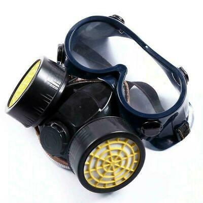 Emergency Survival Safety Respiratory Gas Mask Goggles Dual Protection Outdoor