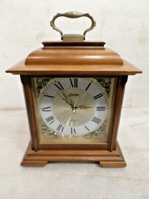 Linden Signed  'Electronic Chime' Striking Bracket Clock