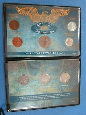 American Coin Treasures America's Most Coveted Coins Set