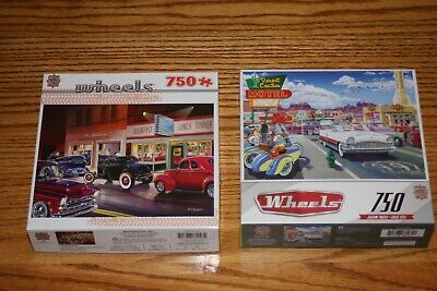 Jigsaw Puzzles Cars Phil's Diner  Drive Through on Route 66  750 pieces