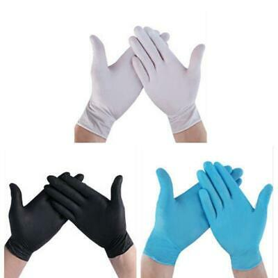 100Pcs Disposable Home Cleaning Washing Nitrile Glove Work Safety PVC Gloves