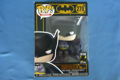 BATMAN Forever FUNKO Heroes POP #270  80 YEARS  Black Box   New