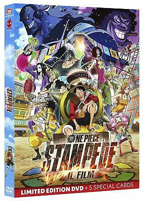 One Piece. Stampede - Il Film (2020) S. E. DVD + 5 Cards