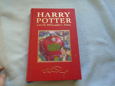 Rare Harry Potter And the Philosopher's Stone  Page Edges In Gilt Deluxe