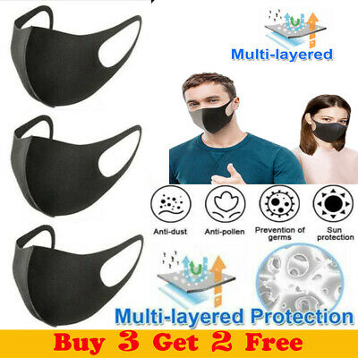 Reusable Breathable Face Cover Anti-dust Haze Mouth Nose Protection 160mm x160mm