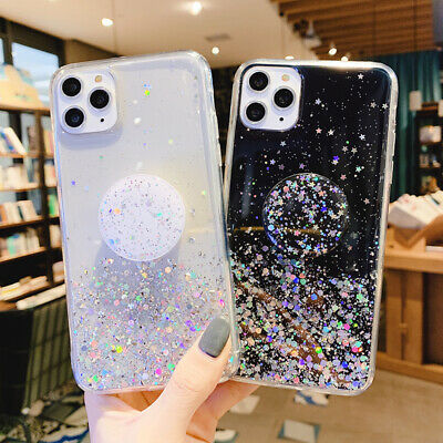 Starry Case With PopUp Holder Case Socket Relief for Samsung A70 A50 A20E A10S