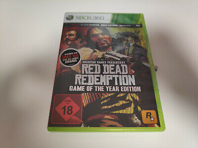 Red Dead Redemption -- Game of the Year Edition (Microsoft Xbox 360, 2011,...