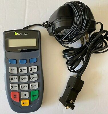 VeriFone PINpad Model 1000SE Gently Used—Tested And Works!